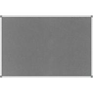 MAUL standard prikbord, textiel, 600 x 900 mm, grijs