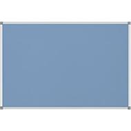 MAUL standard prikbord, textiel, 600 x 900 mm, lichtblauw