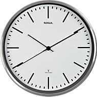 MAUL Wanduhr MAULfly, Durchmesser 30 cm, Funkuhr, weiß