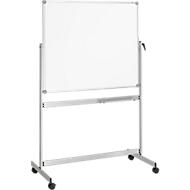 MAUL Wende-Whiteboard Revolve, mobil, beschichtet, 1000 x 1200 mm