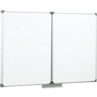 MAUL whiteboard inklapbaar, 2 vleugels, 1200 x 1000 mm