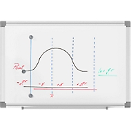MAUL whiteboard MAULstandard, 300 x 450 mm, gelakt oppervlak