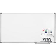 MAUL Whiteboard Premium 2000 SET, silber, kunststoffbeschichtet, 900 x 1800 mm