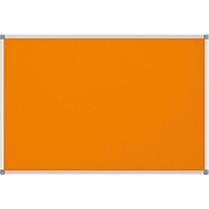MAULstandard Pinboard, Textil, 600 x 900 mm, orange
