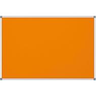 MAULstandard Pinboard, Textil, 600 x 900 mm, orange