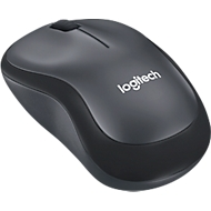 Maus Logitech M220 Silent, kabellos, Nano-USB-Empfänger, schwarz