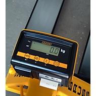 Mehrbereich geeicht, für Gabelhubwagen Typ X-tra B, 0,5-500 / 1,0-2000 kg