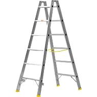 MEHRSI®-Sprossendoppelstehleiter, 6 Stufen