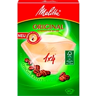 Melitta® Filtres à café 1 x 4, brun, 80 pièces
