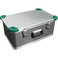 Mini-Box, Leichtmetall, mit Stapelecken, 42 l
