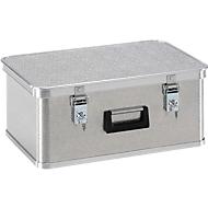 Mini-box, licht metaal, zonder stapelhoeken, 42 l