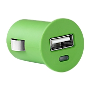 Mini Car Charger, mit einem USB-Port, grün