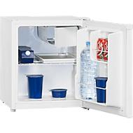Mini koelkast KB 45-1, 70 W, A++, 43 dB, 2 vakken, 2 deurvakken & vriesvak, 36 + 6 l, B 439 x D 470 x H 510 mm, wit