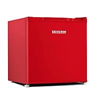 Mini Kühlschrank Severin KB 8874, 60 W, A++, 40 dB, 2 Fächer, 2 Türfächer & Eisfach, 40 + 6 l, B 496 x T 447 x H 470 mm, rot