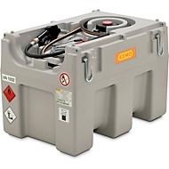 Mobiel benzinestation CEMO elektrische pomp 12 V, 460 l, 40 l/min, automatisch mondstuk, scharnierend deksel, B 116 x D 80 x H 86 mm