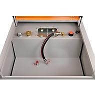 Mobiel tankstation DT-Mobil PRO ST zonder pomp, 980 l, snelkoppeling, B 1300 x D 1150 x H 1300 mm