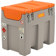 Mobiel vulstation CEMO elektrische pomp 12 V, 600 l, 40 l/min, automatische sproeier, scharnierend deksel, B 116 x D 80 x H 107 mm