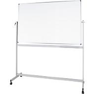 Mobiel whiteboard MAULstandaard, met kunststof coating, 900 x 1200 mm