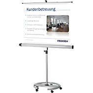 Mobiele statiefprojectiewand Franken Pro, 1500 x 1500 mm