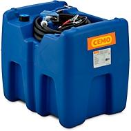 Mobile Tankstelle CEMO Blue-Mobil EASY, mit Tauchpumpe CENTRI SP30 12 V, 210 l Tank für AdBlue®, B 785 x T 595 x H 685 mm