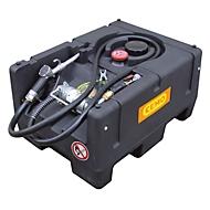 Mobile Tankstelle CEMO KS-Mobil EASY, Handpumpe, 120 l Benzintank, Polyethylen, ATEX, B x 800 x T 600 x H 450 mm, versch. Ausführungen