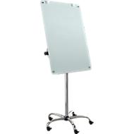 Mobiles Glas-Flipchart