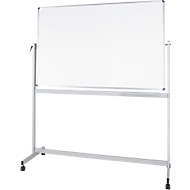 Mobiles Whiteboard MAULstandard, kunststoffbeschichtet, 900 x 1200 mm
