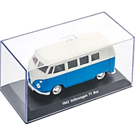 Modellauto VW T1, originalgetreu, B158xT77xH78 mm, blau