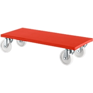 Möbelroller 100 K1, rot, 2 Stück