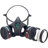 MOLDEX Demi-masque 8572, pièce faciale + 2 x filtres A2P2 R