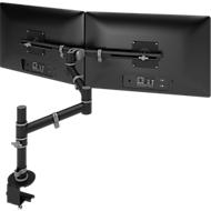 Monitorarm ViewGo, voor 2 monitoren, zwart