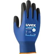 Montagehandschoen uvex phynomic wet, polyamide/elastaan, Aquapolymeer-coating, EN 388: 3131 X, ademend, 10 paar, maat 10