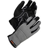 Montagehandschoenen Worksafe A80-533, Polyester/kunstleer, niet gevoerd, maat 9, 6 paar