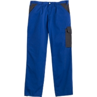 Montana broek met tailleband DUO, blauw/antraciet, m. 46