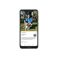 Motorola One Schwarz - 4G LTE - 64 GB - GSM - Smartphone