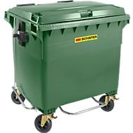 Müllcontainer MGB 770 FDP, Kunststoff, 770 l, grün
