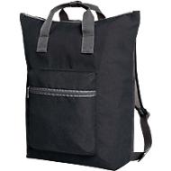 Multibag SKY, Polyester, atmungsaktiv, B 410 x T 130 x H 430 mm, WAB 100 x 80 mm, schwarz