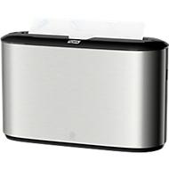 Multifold-Handtuch-Tischspender Tork Xpress, Metall/Kunststoff, Edelstahl, B 323 x T 116 x H 218 mm