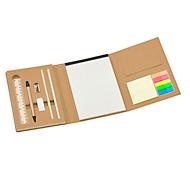Multifunktionale Schreibmappe, Natur, Standard, Auswahl Werbeanbringung optional