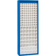 MultiStore magazijnkast, 138 bakjes, gentiaanblauw