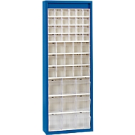 MultiStore magazijnkast, 48 bakjes, gentiaanblauw