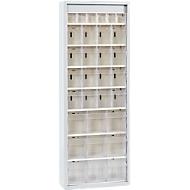 MultiStore Magazinschrank, 31 Behälter, lichtgrau