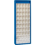MultiStore Magazinschrank, 50 Behälter, enzianblau