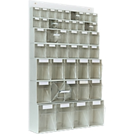 MultiStore Wand-Set mit 44 Behältern