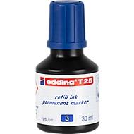 Nachfüll-Tusche edding T25 (Tropfdosierer), blau