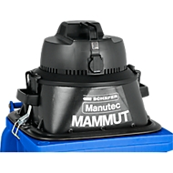 Nass-Trockensauger, mit Steckdosenanschluss, mit Aufsatz Manutec-Mammut