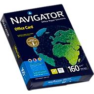 Navigator Office Card, DIN A4, 160 g/m², hochweiß, 1 Paket = 250 Blatt