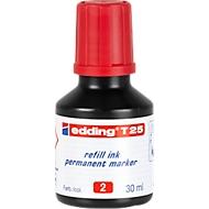 Navul-inkt edding T25 (druppeldosering), rood