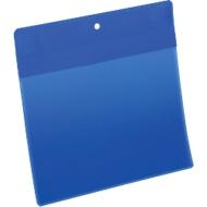 Neodym-Magnettaschen B 210 x H 148 mm (A5 quer), 10 Stück, blau