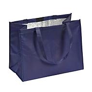 Non Woven Kühltasche, Blau, Standard, Auswahl Werbeanbringung optional